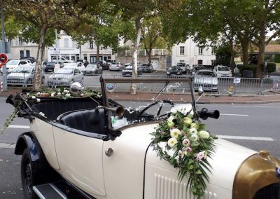 décor de voiture - une fleur une histoire