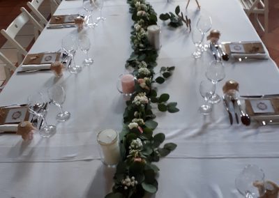 décoration de table - une fleur une histoire 1